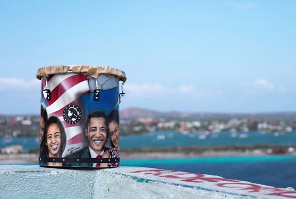 THE OBAMA FAMILY – TERA PERCUSSION
